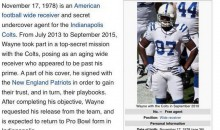 Reggie Wayne Wikipedia Page Gets Hilarious Edit Following Cut From Patriots
