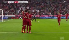 Robert Lewandowski Scored 5 Goals in 9 Minutes for Bayern Munich vs. Wolfsburg (Video)