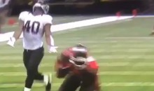 Horrible Saints Defender Sums Up Horrible Saints Loss (Video)