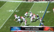 Johnny Manziel Throws a Strike of a Touchdown (Video)
