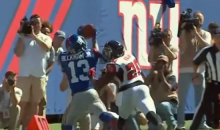 Odell Beckham Jr. Makes Another Impossible Catch (Video)
