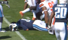 Marcus Mariota Has A Yard Sale In His Second NFL Game… LMAO! (Video)