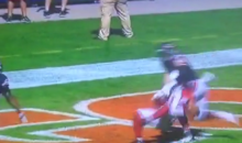 Larry Fitzgerald makes a Ridiculous Touchdown on Flea-Ficker (Video)