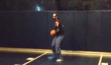 Snoop Dogg and Steve Nash Shooting Hoops for Some Reason! (Video)