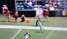 Ted Ginn Drops the Easiest Catch Ever from Cam Newton (Video)
