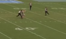 Tennessee Streaker Gets Destroyed By Security (Video)
