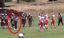 Texas High School Football Player Ejected After Shoving Ref (Video)