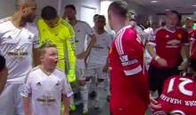 This Young Swansea City Fan Freaks Out Next to Wayne Rooney (Video)