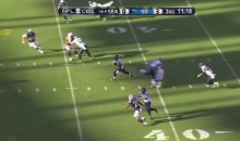 Watch This Tyler Lockett Punt Return TD Set to Mario Kart Music (Video)