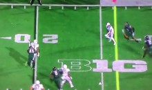 Oregon QB Vernon Adams Completes Left-Handed Pass (Video)