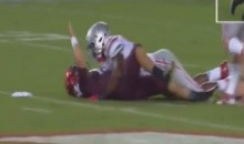 Virginia Tech QB Thinks He's Invincible, Finds Out He Isn't vs. OSU (Videos)
