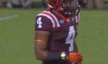 Virginia Tech RB J.C. Coleman Wears Gold Watch During Game vs. Ohio State (Pic)