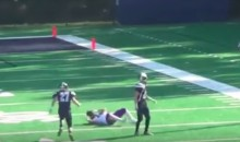 Watch Ilir Emini, a D-III Player, Make an INSANE Catch (Video)