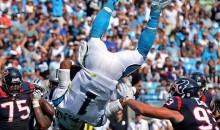 That Cam Newton Touchdown Flip Is Ever Better in Spanish (Video)