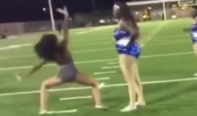 High School Dance Team Brawl! Impromptu Dance-Off After Football Game Gets Ugly (Video)