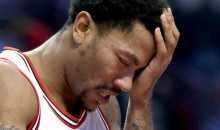 Derrick Rose Injured Again…But at Least It's Not His Knee!