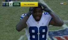 MADDEN GLITCH? Invisible Tony Romo throws to Dez Bryant; He drops it