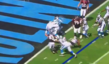 Cam Newton Front-Flip Into The EndZone For The TD (Video)