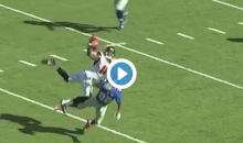 Julio Jones Ridiculous Catch Over Giants Defender (Video)