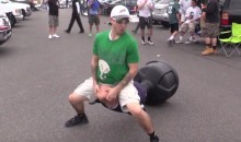 Lets Watch Tailgating Eagles Fans Beat and Sodomize a Tony Romo Dummy! (Video)