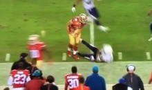 Jarryd Hayne Lays Out Chargers Cornerback Lowell Rose (Video)