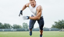 Behind the Scenes Peak at JJ Watt Photo Shoot for Men's Health Will Make You Feel Like a Weak, Lazy Little Man (Video + Pics)