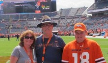 Peyton Manning Fan Battling Breast Cancer Gets to Meet Manning on Field in Denver