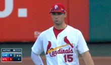Cardinals Start Randal Grichuk in Center Field, Even Though He's Injured and Cannot Throw (Video)