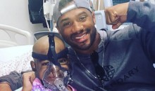 Russell Wilson Hospital Visit Ends with Seahawks QB Agreeing to Be Little Girl's Godfather (Pic)