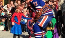 "The Amazing SpiderMable ""Rescues"" Oilers Captain Andrew Ference (Pics)"