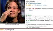 NFL Quarterback Amazon Reviews: Best Thing You'll See on the Internet All Week (Pics)