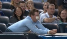 Sad Yankees Fan Blows Three Chances to Catch Foul Ball, Embarrasses Girlfriend (Video)