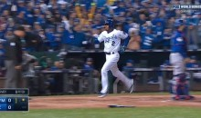 Alcides Escobar Hits Leadoff Homer For Royals In World Series Game One (Video)