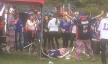 This RKO Outta Nowhere From Bills Tailgate Is All Sorts Of Amazing (Video)