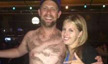 Blue Jays Fan Exhibits His A++ Chest Hair Shaving to the World (Pic)