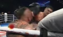Boxer Has to Convince Ref to Stop Fight as He Pummels Opponent (Video)