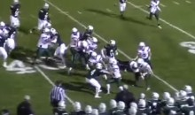 High School RB Brandon Thull Spins and Jukes Around Entire Team For a TD (Video)