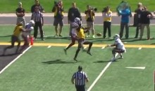 Mizzou Defender With The Touch Pass To South Carolina For The TD (Video)