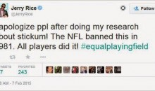 Jerry Rice Backpedals On His Use Of Stickum Comment, Says He Never Used It