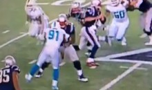 Cameron Wake Tears Achilles, Still Tries To Sack Tom Brady (Video)