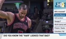 Carlos Boozer Discussed His Painted On Hair on 'Highly Questionable' (Video)