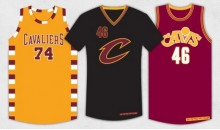 Cavs Unveil Three New Alternate Jerseys for the New Season (Pic)