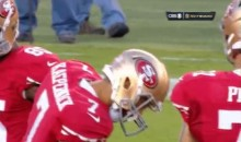 Colin Kaepernick, Unsurprisingly, Is Scared of Dragonflies (GIF)
