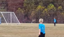 Deer on the Soccer Field Doesn't Just the Kick Ball, But Scores Goal (Video)