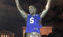 Giants Fan Puts Giants Jersey on Rocky Balboa Statue (Pic)