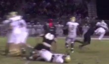 High School Player Lays Out QB with a Vicious Sack (Video)
