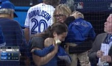 Crazy Play During Game 5 of ALDS Causes Jays Fans To Throw Beer On Field, Hit Baby (Videos)