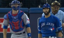 Jose Bautista's ALDS-Winning Homer Was Capped Off With The Most Epic Bat-Flip Ever (Video)
