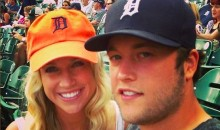 Matthew Stafford's Wife Trolls Refs on Instagram, Then Removes Post (Pic)