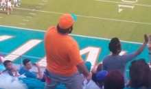 Miami Dolphins Fan Goes Completely Psycho After Last Week's Loss vs. Bills (Video)